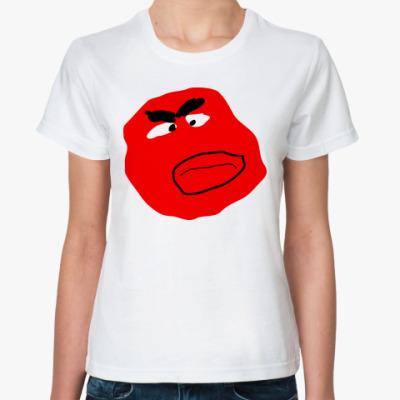 Классическая футболка Красный бородач
