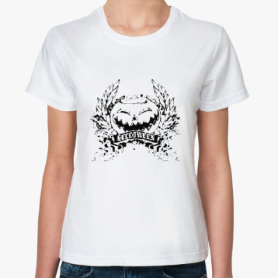 Классическая футболка Helloween  Жен
