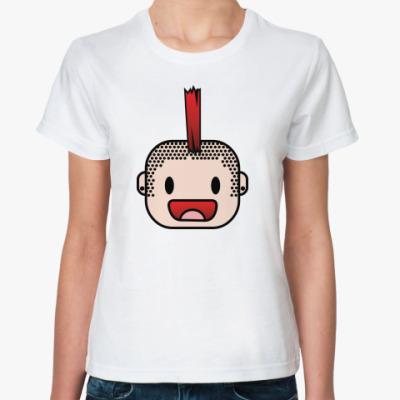 Классическая футболка голова