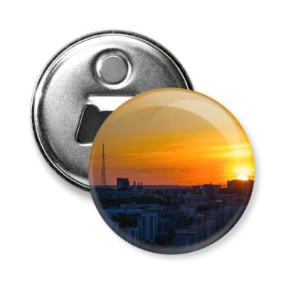 Магнит-открывашка «город Уфа»