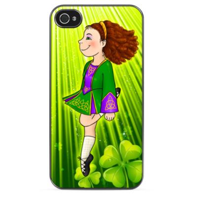 Чехол для iPhone Irish dancing girl