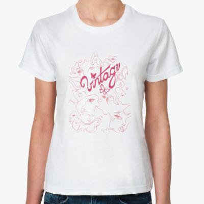 Классическая футболка Винтаж