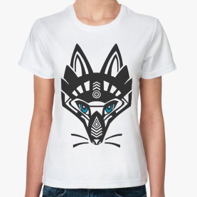Классическая футболка Лисица