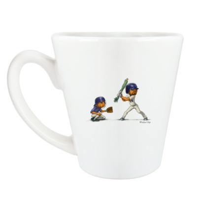 Чашка Латте Тыквы Бейсбол