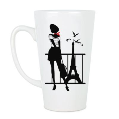 Чашка Латте Парижанка (француженка)
