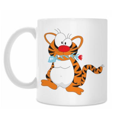 Кружка Funny tiger