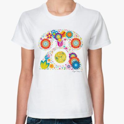 Классическая футболка Телефон