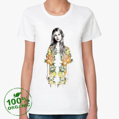 Женская футболка из органик-хлопка Fashion Diva