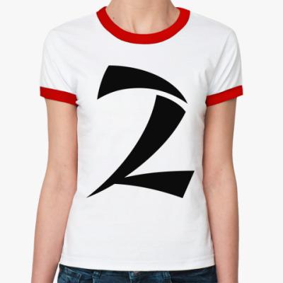Женская футболка Ringer-T номер 2
