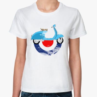 Классическая футболка веспа