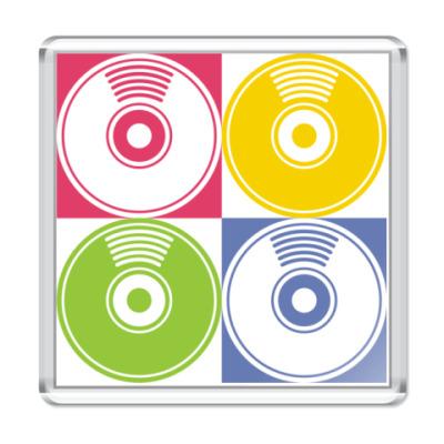 Магнит  CD