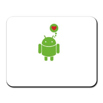 Коврик для мыши Android