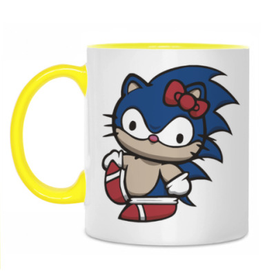 Кружка Kitty Sonic