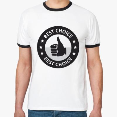 Футболка Ringer-T  Best choice
