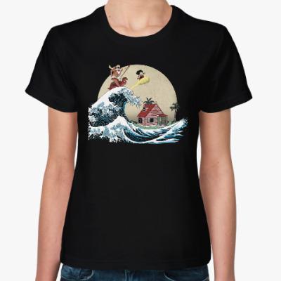 Женская футболка Волна приключений