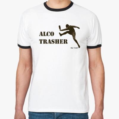 Футболка Ringer-T Alco Trasher