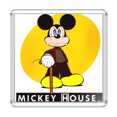Магнит Mickey House
