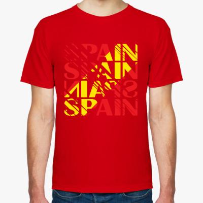 Футболка Сборная Испании по футблоу
