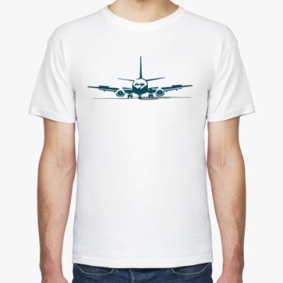 Футболка Пассажирский самолёт