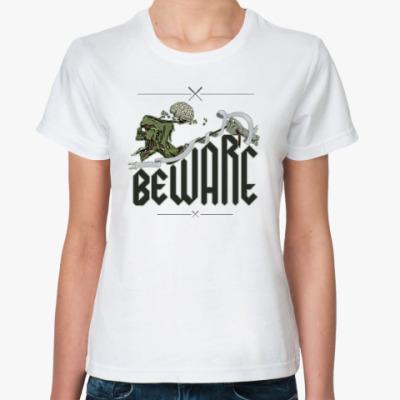 Классическая футболка Obey. Zomby