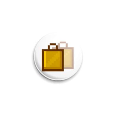 Значок 25мм  ICQ Статус #36