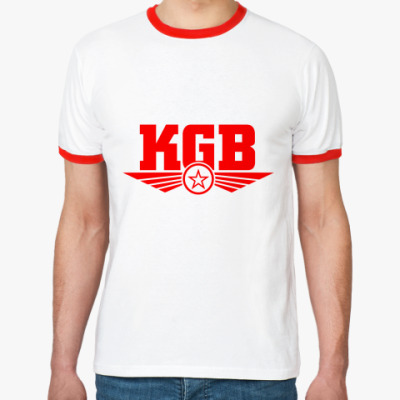 Футболка Ringer-T КГБ