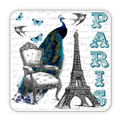 Костер (подставка под кружку) PARIS