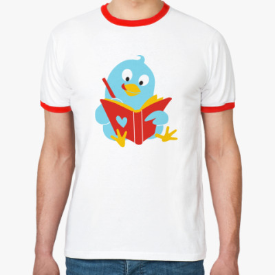 Футболка Ringer-T Твиттер