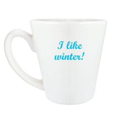 Чашка Латте 'Winter'