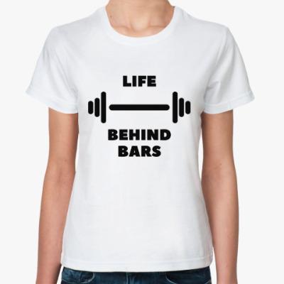 Классическая футболка Гантеля