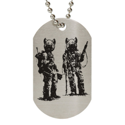 Жетон dog-tag War Pigs