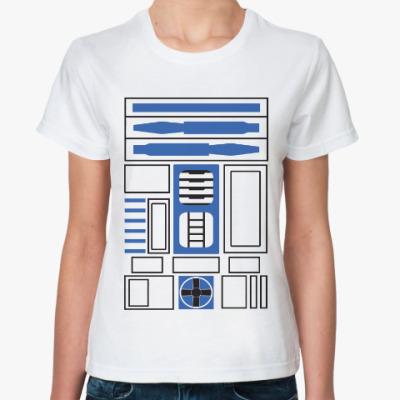 Классическая футболка R2-D2