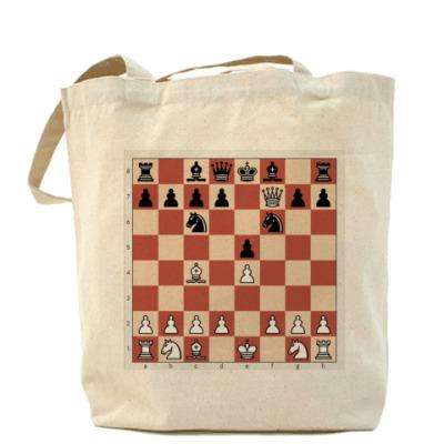 Сумка Холщовая сумка Шахматы - мат