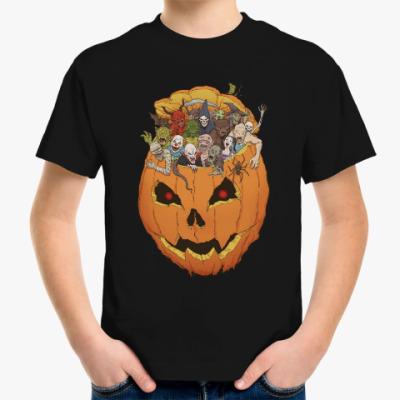 Детская футболка Хэллоуин Монстры