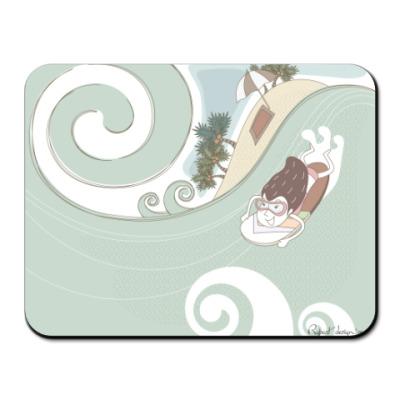Коврик для мыши  Серфинг