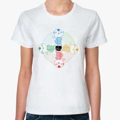 Классическая футболка China-boy