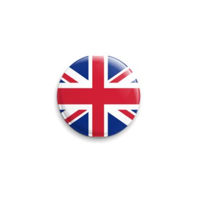Значок 25мм UK