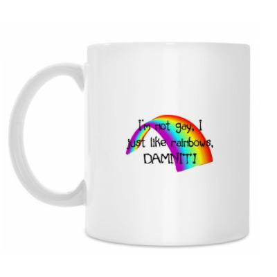 Кружка I'm NOT GAY
