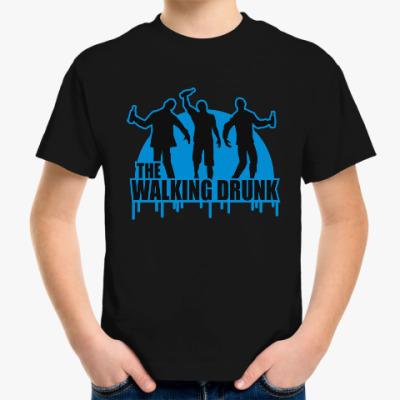 Детская футболка Ходячие выпивалы