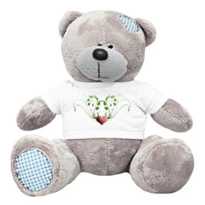 Плюшевый мишка Тедди Мишка сердечрый