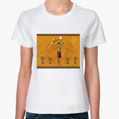 Классическая футболка Африка