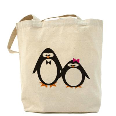 Сумка Пингвины