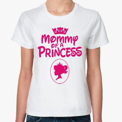 Классическая футболка Мама Принцессы