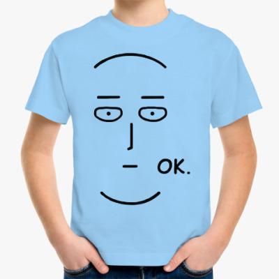 Детская футболка Ванпанчмен One Punch Man