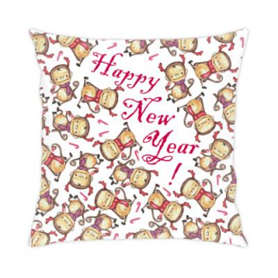 Подушка Happy New Year