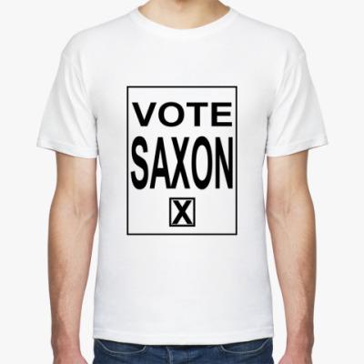 Футболка Vote Saxon
