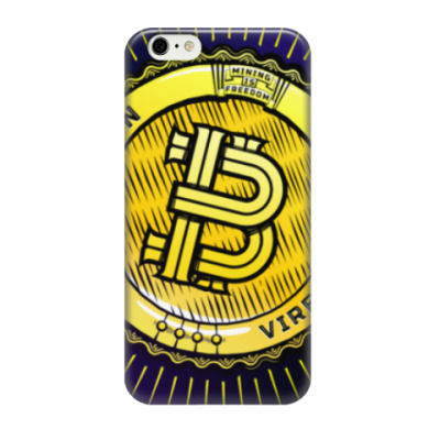 Чехол для iPhone 6/6s BITCOIN — VIRES IN NUMERIS