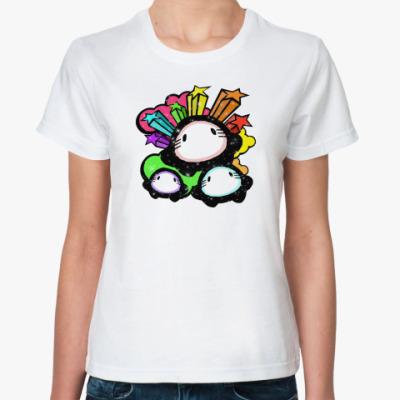 Классическая футболка CUTE