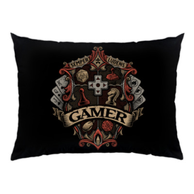 Подушка Герб Геймера Gamer