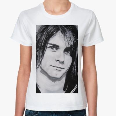 Классическая футболка Kurt Cobain